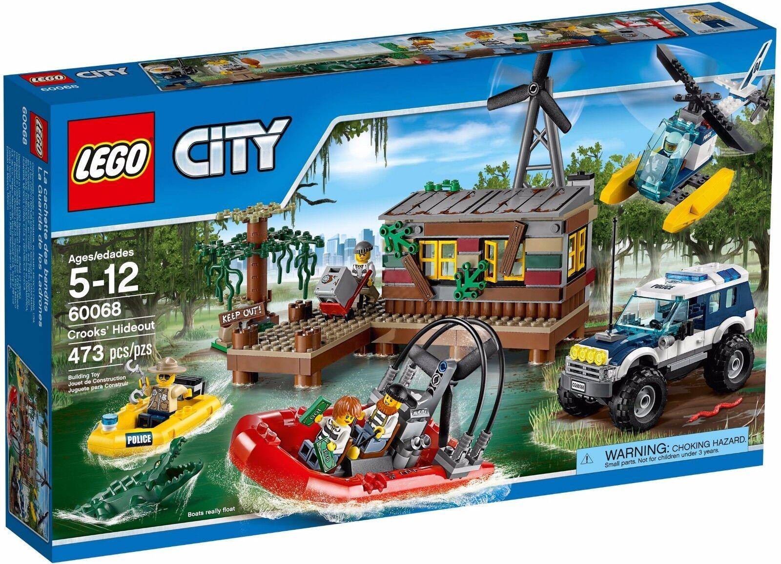 LEGO City Crooks Hideout   60068  Retirosso 2015  Rare  NEW