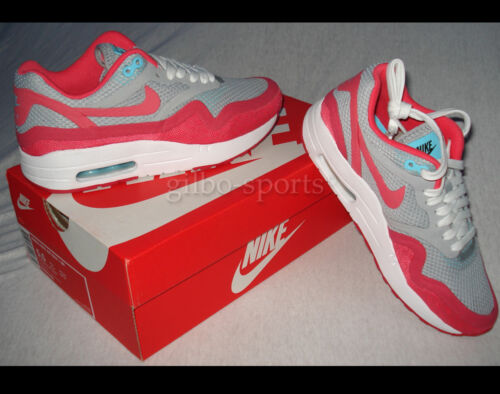 Nike Air Max 1 BR wmns grey//red taille 36 37 38 41 NEUF 644443 001 90