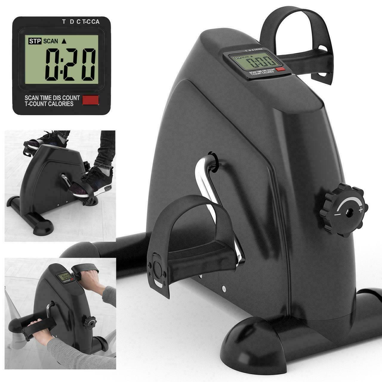 Digital Mini LCD Resistance Cycle Exercise for Leg Arm Exerciser