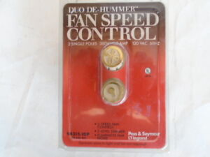 Details about P&S 94315-IDP 3 - SPEED DE HUMMER CEILING FAN AND LIGHT  CONTROL IVORY USA UNUSED