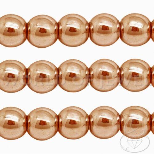 EMATITE Naturale 3mm 4mm Filo Perline Palline Tondo Foro Pietre Dure Cabochon