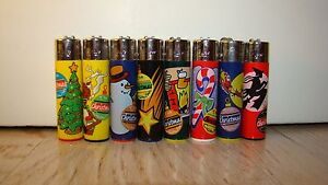 ACCENDINI-SMOKING-FLAMI-CHRISTMAS-COLLECTION-1998-CLIPPER-LIGHTERS-FLAMAGAS-S-A