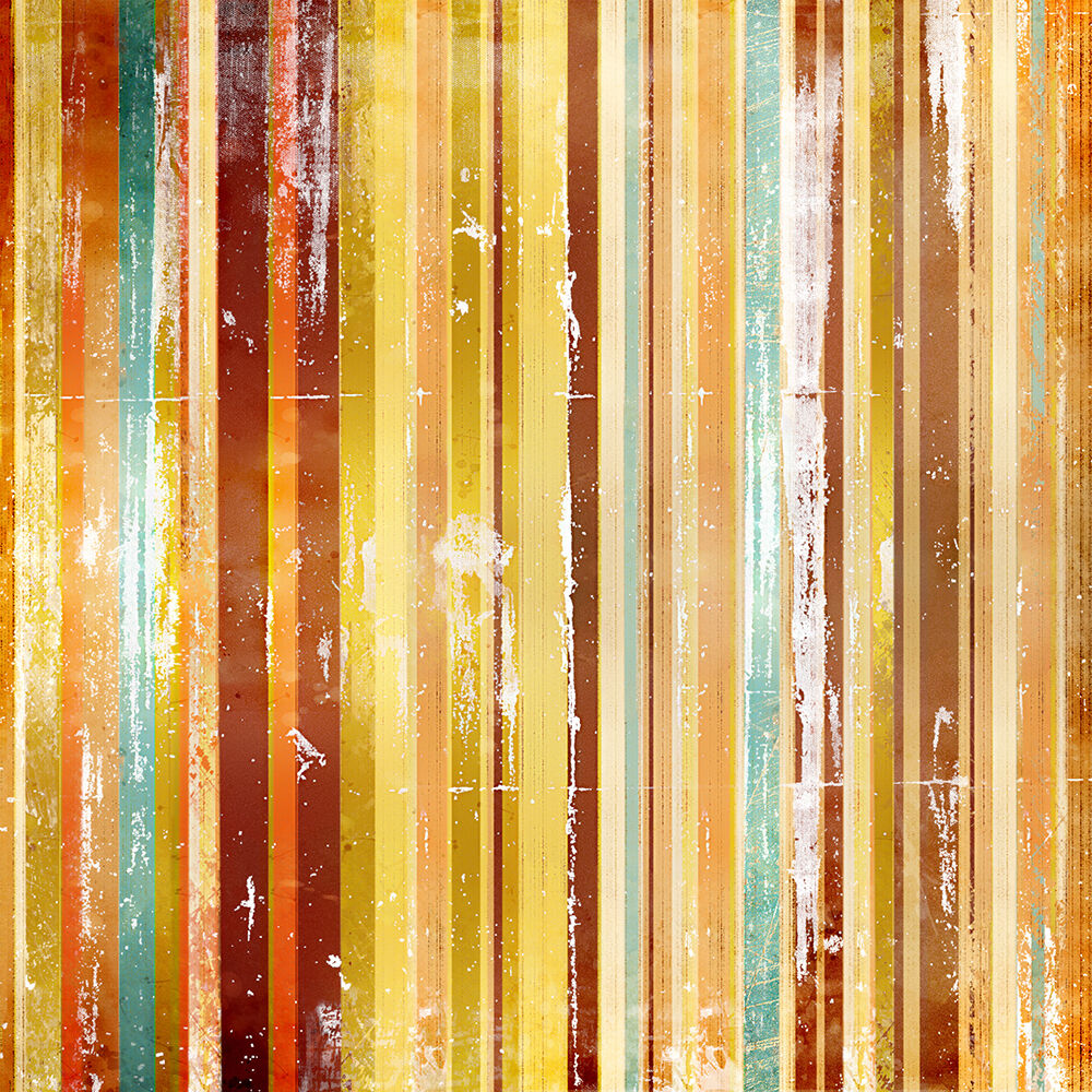 3D Galons Farbes 7 Photo Papier Peint en Autocollant Murale Plafond Chambre Art