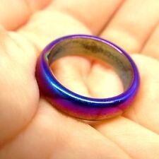 Size 7.5 Leklai Rainbow 7 Color Ring Umklum Mountain Thai Amulet Magic Lucky