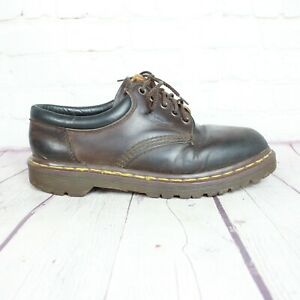 Dr-Martens-Original-Made-in-England-AW04-Brown-Oxford-Size-7-Dress-Shoes