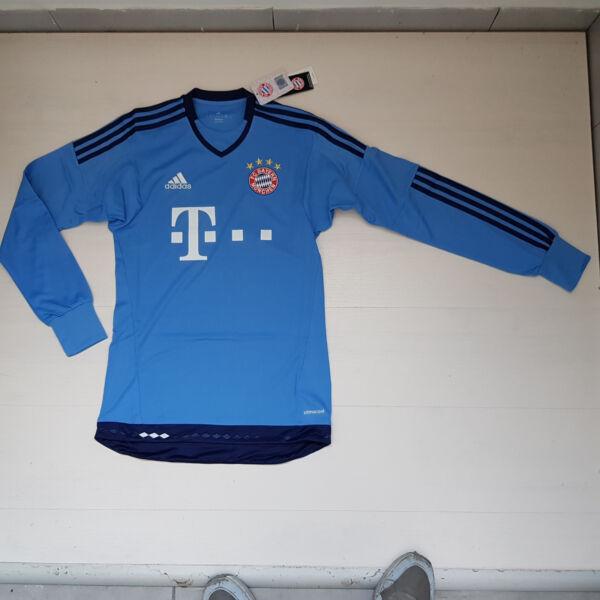 3318 Adidas Maglia Maglietta Fc Bayern Monaco Munchen Goalkeeper Portiere S08660 Ridurre Il Peso Corporeo E Prolungare La Vita