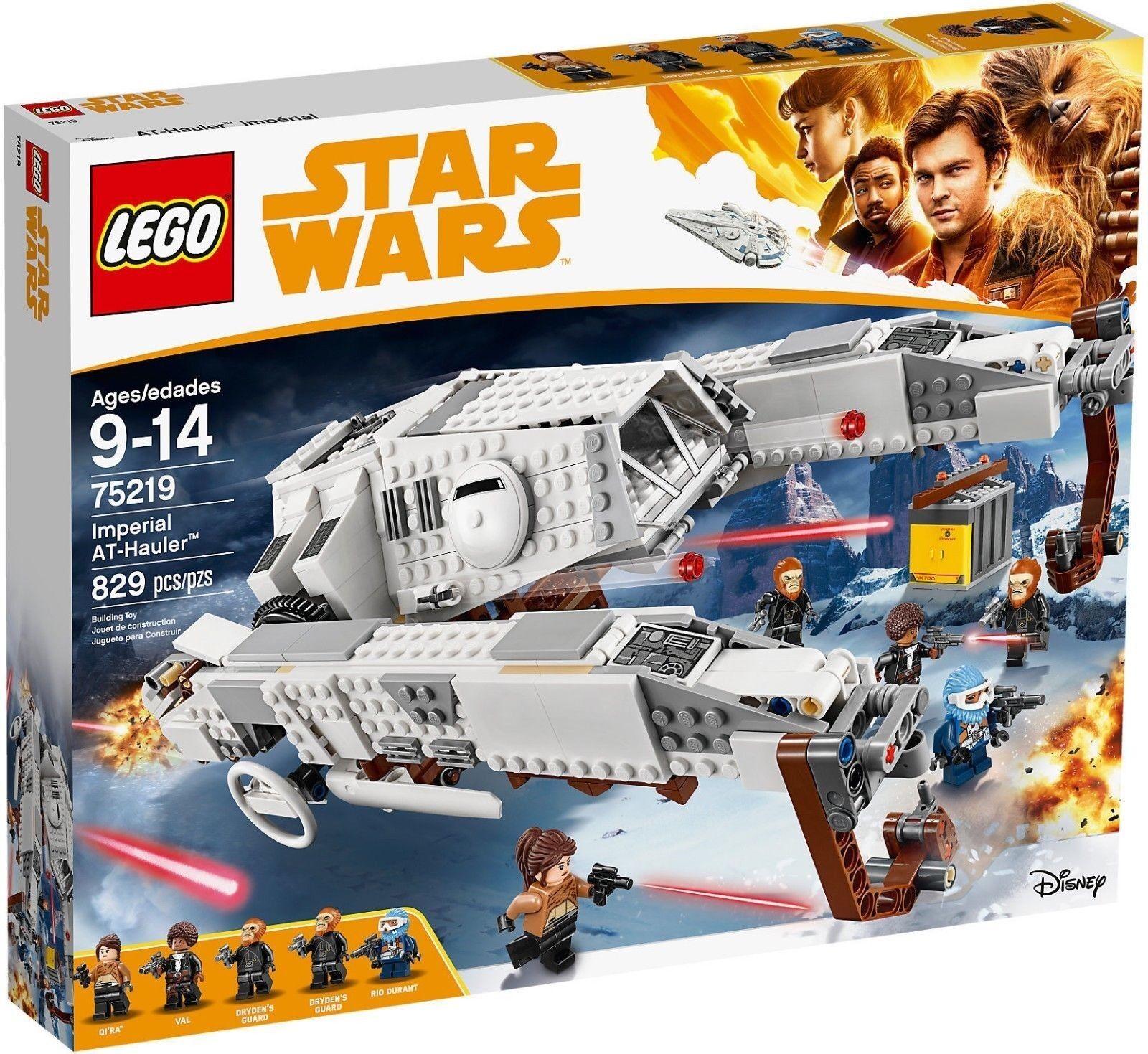 LEGO 75219 - STAR WARS Imperial At Hauler™ -SPEDITO DA ITALIA NUOVO ORIGINALE