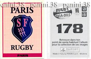 Rare-stadium-francais-sticker-178-034-rugby-2014-2015-034-panini