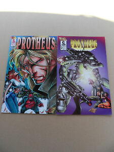 Mike-Deodato-039-s-Protheus-1-2-Lot-Complet-Caliber-1996-VF-minus