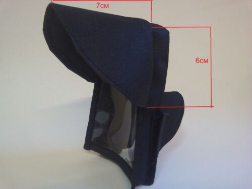 Cover for metal detector with visor Minelab Equinox 600 800 Black New