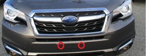 Round bumper holes License Plate Bracket Kit for Subaru WRX 2015 16 17 2018 2019
