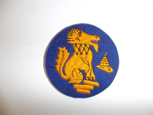 e1739 WW2 British Army Chindts CBI patch Wingate Commando R21C4