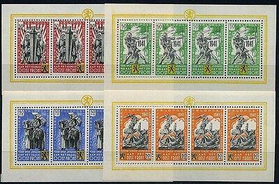 Flämische Legion Darstellungen 1941** Kleinbogensatz gezähnt (S6243)