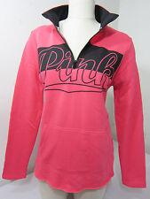0a7cf2f9cc25 item 1 RARE NEW Victoria Secret Pink HALF ZIP HIGH LOW CURVED HEM  SWEATSHIRT PULLOVER M -RARE NEW Victoria Secret Pink HALF ZIP HIGH LOW  CURVED HEM ...