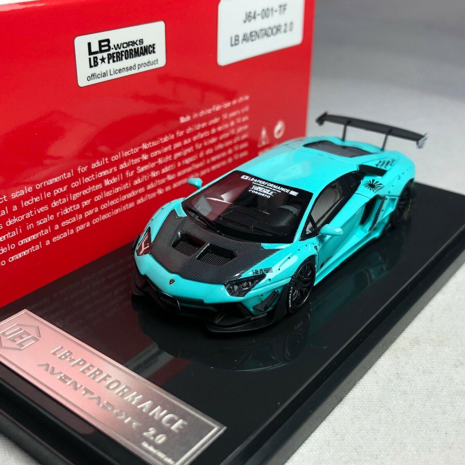 1 64 LB WORKS JEC Lamborghini LP700 Aventador 2.0 Baby bluee J64-001-TF