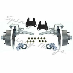 Mechanical-Disc-Brake-HALF-Kit-5-or-6-STUD-4WD-Landcruiser-Trailer