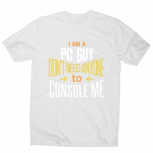 funny gamer men/'s t-shirt Pc guy