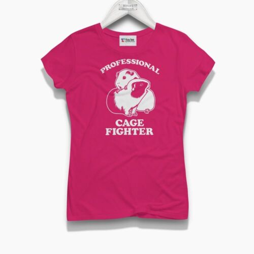 Brand New funny t-shirt Guinea Pig Women/'s Professional Cage Fighter T-Shirt