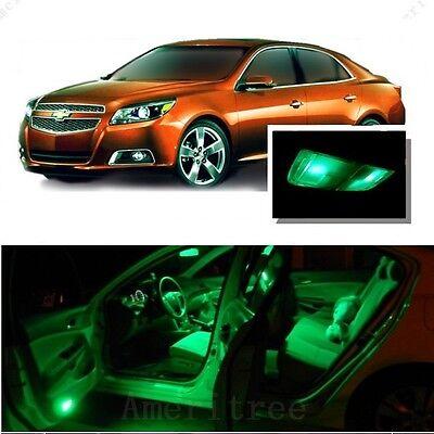 For Chevy Malibu 2013 2018 Green Led Interior Kit Green License Light Led Ebay