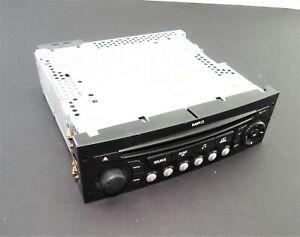 96662669XT-Peugeot-207-307-Citroen-C2-C3-C4-Genuine-Continental-Stereo-Head-Unit