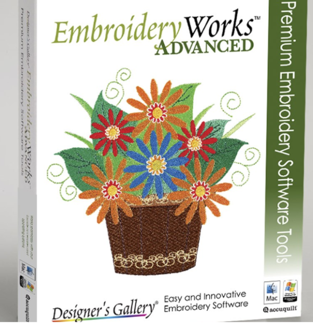 Designer S Gallery Embroidery Works Advanced Software For Sale Online Ebay