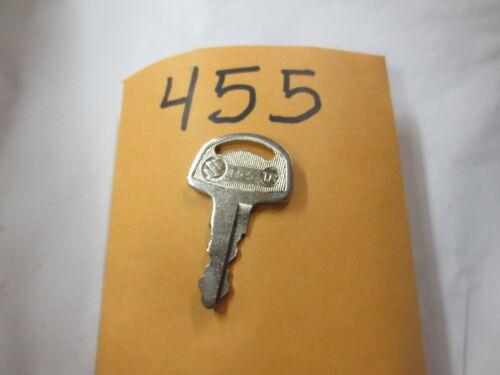 SUZUKI,T500,TS250,TS400,TS90,T125,K10,AS50 Nos oem Pre cut  Key # 455