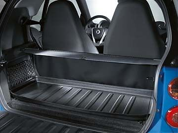 Genuine Oem Smart Car Cargo Trunk Area Tray In Black 08 15 Fortwo