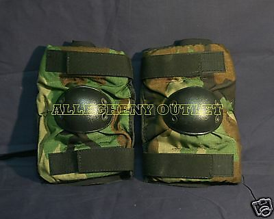 USGI Military USMC Surplus Army Desert Coyote Elbow Pads Small MINT