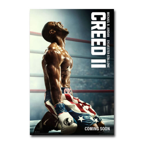 Creed II Movie Art Canvas Poster Print 12x18 32x48 inch