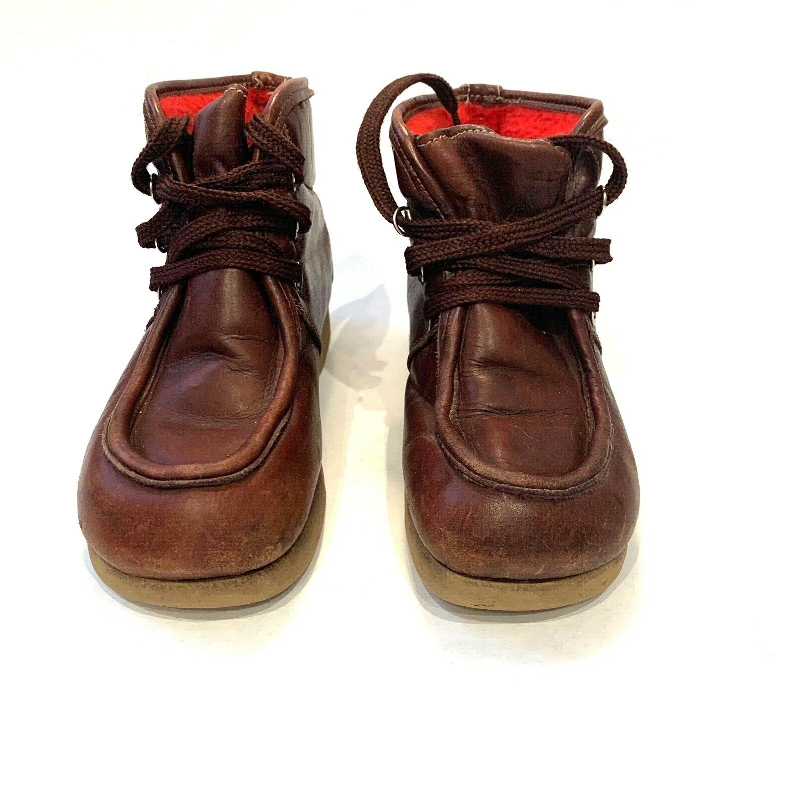 Bass Women size 8 Brown 80s Sugarloaf Hiking Style Boot Retro