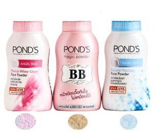 50g-Pond-039-s-BB-Magic-Powder-Oil-amp-Blemish-Double-UV-Control-Cool-Blue-Sweet-Pink