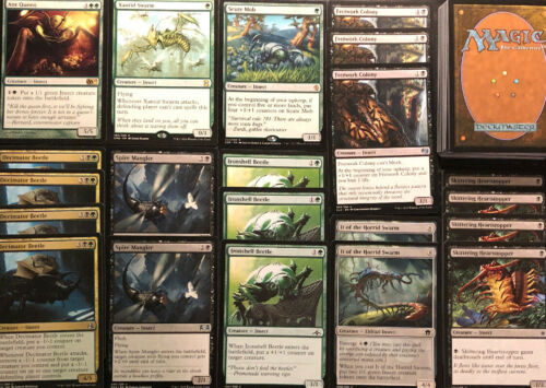 INSECT DECK Green Black Ready To Play 60 Cards Mtg