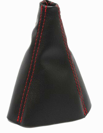 Fits 05-10 Chevrolet Cobalt Vinyl Leather Manual Shift Boot w//Red Stitch