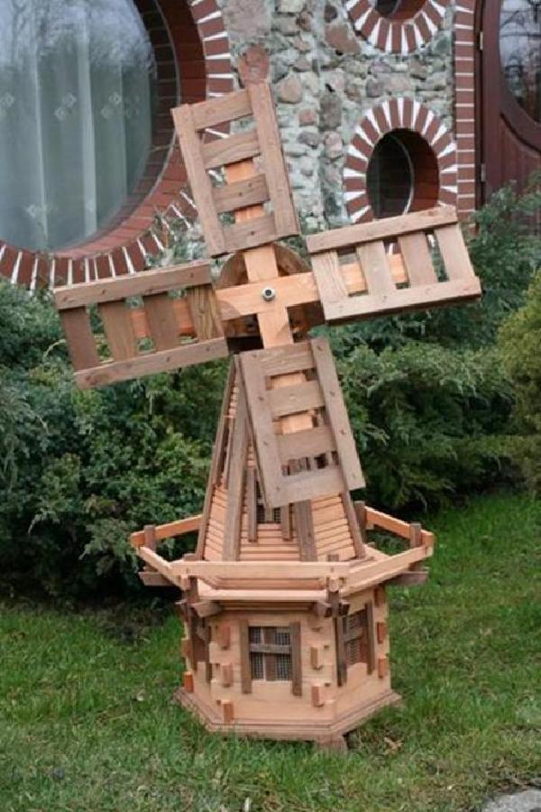 Windmühle Holz Holz Holz 100cm  Zierwindmühle, Windmühlen, Imprägniert aus Holz   Sale Outlet    Ruf zuerst    Online-Shop  9fe11d