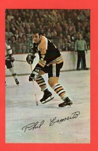 1971-72-Boston-Bruins-Phil-Esposito-Postcard