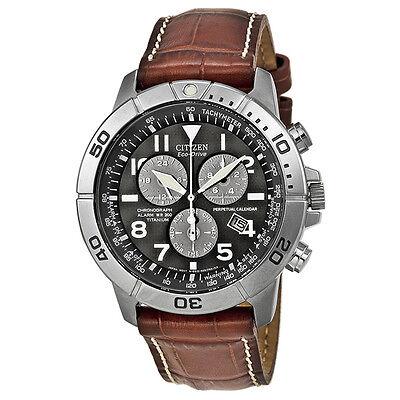 Citizen Eco-Drive Perpetual Calendar Chronograph Mens Watch BL5250-02L