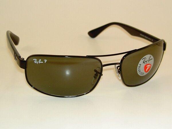Authentic Ray Ban Rb3445 002 58 Black Sport Sunglasses Green Polarized Lens  61mm   eBay 37dc4612c3