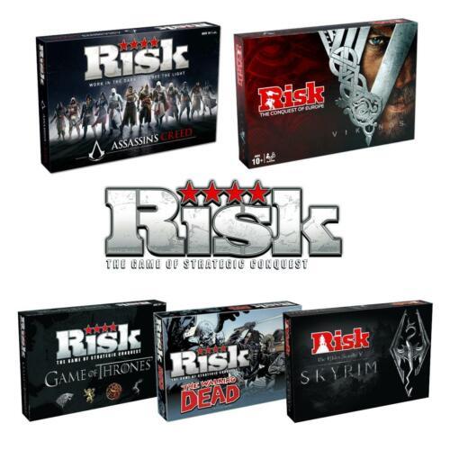 Risque-ASSASSINS CREED /> Elders Scrolls /> Game of Thrones /> Walking Dead /> Vikings