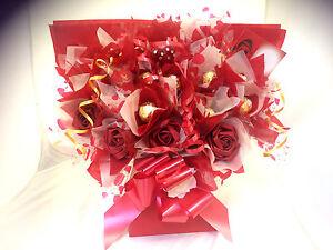 15 or 20 chocolates FERRERO ROCHER BOUQUET SWEET TREE WITH FLOWERS 10