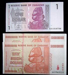 Image Is Loading 3 Zimbabwe Banknotes 2 X 50 Billion Dollars