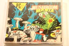 """VINTAGE  IBM PC 3.5"""" ~ Mushroom Mania by Britannia 1987"""