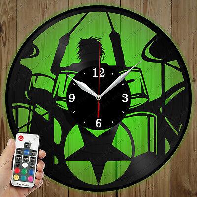 Details about  /LED Vinyl Clock Gril LED Wall Decor Art Clock Original Gift 1676