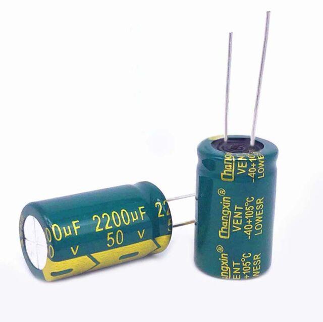 2200UF 50Volt Capacitor 105°C