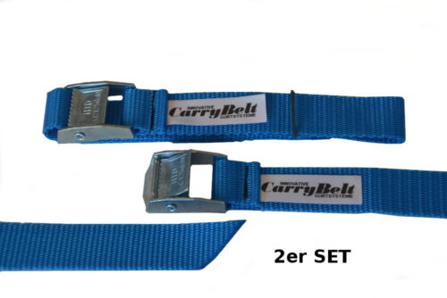 "Sicherung Gepäck Fahrrad Outdoor CarryBelt Spanngurt /""Reims25/"" 2er Set"