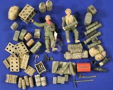 Verlinden 1/35 VP 2772 M 109 A2 Munition- Zubehör und 2 Mann Bedienung