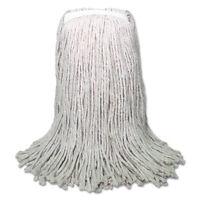 Boardwalk Banded Mop Head Cotton Cut-end White 16oz 12/carton Cm20016 on sale