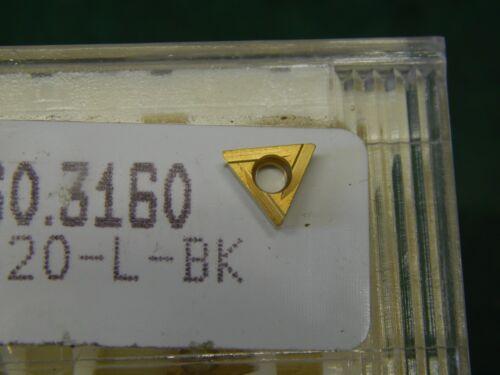 5 Komet W30 04060.3160 UF3-180620-L-BK Carbide Inserts