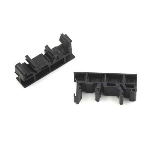 PCB Din C45 Rail Adapter Circuit Board Mounting Bracket Holder Carrier Black ME