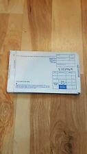 4,000 Short 2 Part Truncated Credit Card Manual Imprinter Sales Slips Draft Form