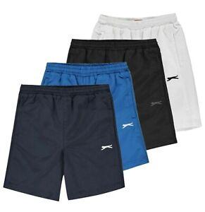 Garcons-Slazenger-Sportswear-Maille-Poids-Leger-Swim-Tisse-Shorts-Tailles-7-To-13